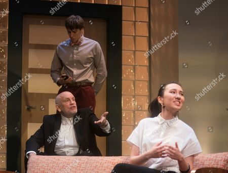 Alexander Arnold as Roberto, John Malkovich as Barny Fein, Ioanna Kimbook as Yung Kim Li,