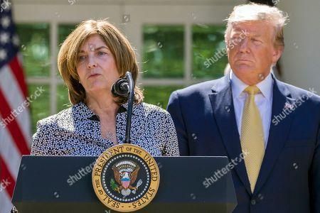 Editorial photo of Trump, Washington, USA - 14 Jun 2019