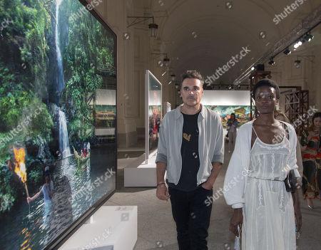 David LaChapelle and Guetcha Tondreau