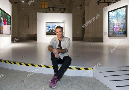 Editorial photo of David LaChapelle Exhibition, Reggia di Venaria, Turin, Italy - 13 Jun 2019