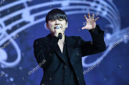 Stock Image of Kim Junsu (Xia) of JYJ