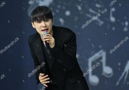 Stock Photo of Kim Junsu (Xia) of JYJ