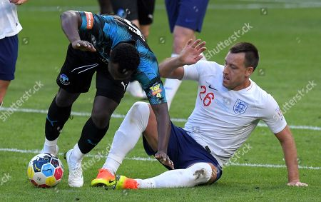 Michael Essien and John Terry