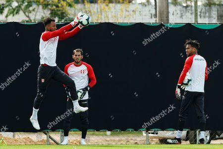 Editorial picture of Training of the Peruvian team at the Copa America, Porto Alegre, Brazil - 14 Jun 2019