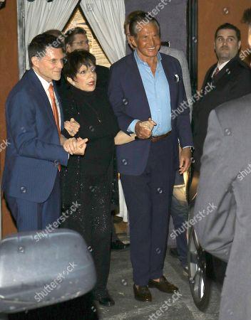 Liza Minnelli and George Hamilton