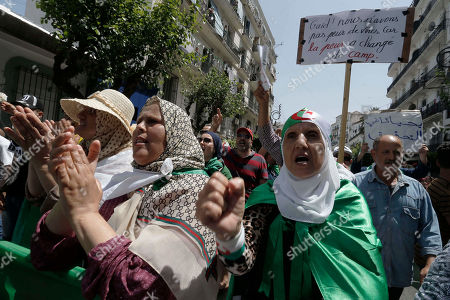 Editorial picture of Corruption, Algiers, Algeria - 14 Jun 2019