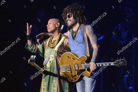 Editorial picture of Lenny Kravitz in concert at AccorHotels Arena, Paris, France - 05 Jun 2019