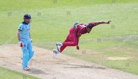 Editorial photo of England v West Indies, ICC Cricket World Cup match. The Ageas Bowl, England, 14 19, Southampton, USA - 14 Jun 2019
