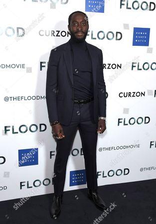 Editorial image of 'The Flood' film special screening, arrivals, London, UK - 14 Jun 2019