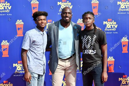 Editorial photo of MTV Movie & TV Awards, Arrivals, Barker Hangar, Los Angeles, USA - 15 Jun 2019