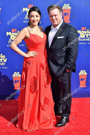Stock Photo of Yvette Yates and Shaun Redick