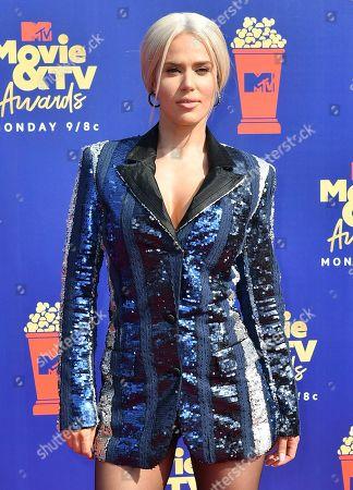 Editorial picture of MTV Movie & TV Awards, Arrivals, Barker Hangar, Los Angeles, USA - 15 Jun 2019