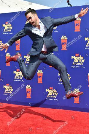 Editorial image of MTV Movie & TV Awards, Arrivals, Barker Hangar, Los Angeles, USA - 15 Jun 2019