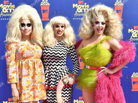 Trixie Mattel, Katya and Alyssa Edwards