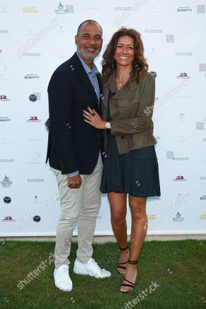 Ruud Gullit and Karin de Rooy