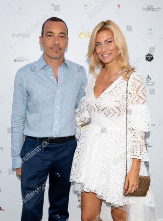 Felice Rusconi and Federica Fontana