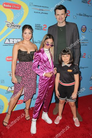 Valery Ortiz, Nathan Lovejoy, Kylie Cantrall and Coco Christo