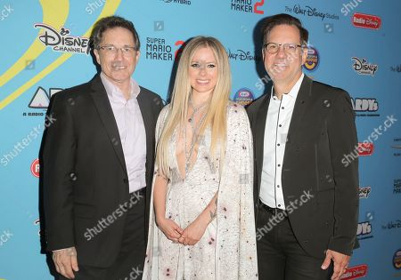 Gary Marsh, Avril Lavigne and Phil Guerini