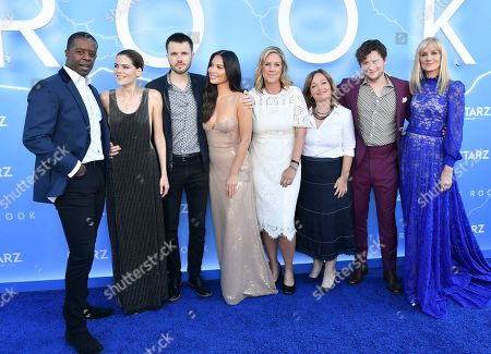 Editorial photo of 'The Rook' TV Show Premiere, Arrivals, The Getty Center, Los Angeles, USA - 17 Jun 2019
