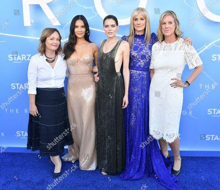 Lisa Zwerling, Olivia Munn, Emma Greenwell, Joely Richardson and Karyn Usher
