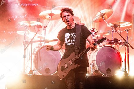 Joe Duplantier of Gojira performs at the Bonnaroo Music and Arts Festival, in Manchester, Tenn