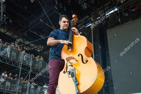 Bob Crawford of The Avett Brothers performs at the Bonnaroo Music and Arts Festival, in Manchester, Tenn