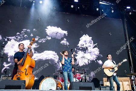 Bob Crawford, Scott Avett, Seth Avett. Bob Crawford, from left, Scott Avett, and Seth Avett of The Avett Brothers performs at the Bonnaroo Music and Arts Festival, in Manchester, Tenn
