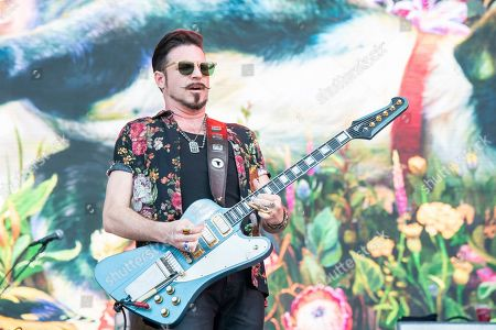 Scott Holiday of Rival Sons performs at the Bonnaroo Music and Arts Festival, in Manchester, Tenn