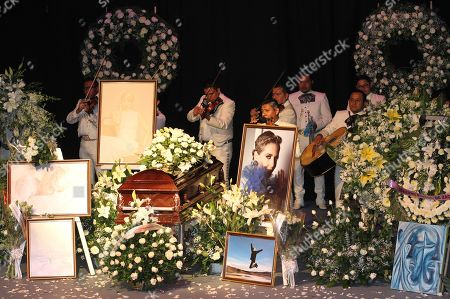 Editorial picture of Mexico says goodbye to actress Edith Gonzalez, Mexico City - 14 Jun 2019