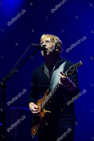 Trey Anastasio of Phish performs at the Bonnaroo Music and Arts Festival, in Manchester, Tenn