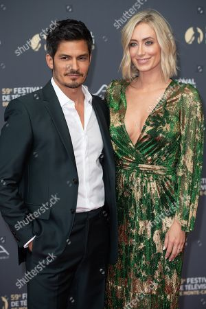 Stock Photo of Nicholas Gonzalez and Kelsey Crane