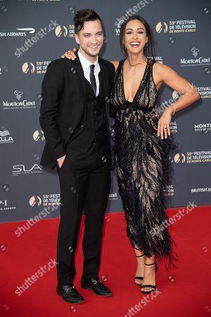 Richard Harmon and Lindsey Morgan