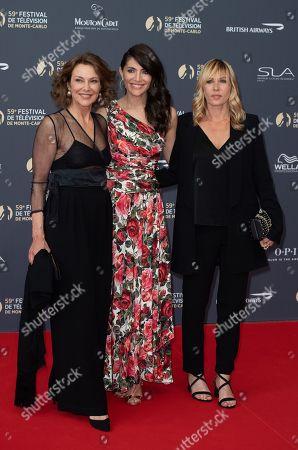 Valeria Cavalli, Caterina Murino and Mathilde Seigner