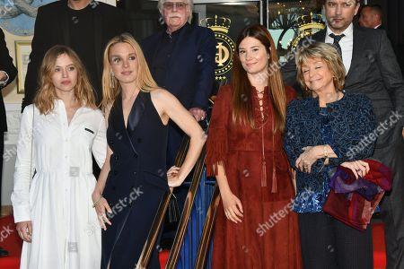 Laetitia Dosch, Lou de Laage, Alice Pol and Daniele Thomson