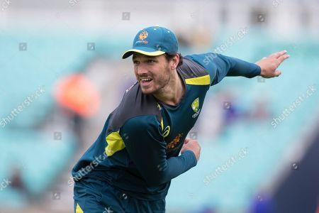 Nathan Coulter-Nile (Australia) during Sri Lanka vs Australia, ICC World Cup Cricket at Kennington Oval, Surrey, SE11 5SS, on 15th June 2019