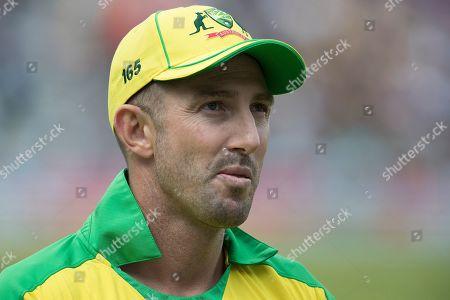 Shaun Marsh (Australia) during Sri Lanka vs Australia, ICC World Cup Cricket at Kennington Oval, Surrey, SE11 5SS, on 15th June 2019