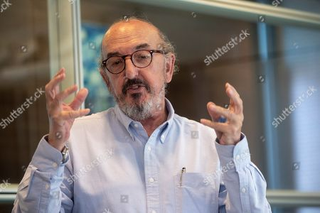 Founder of multimedia communications group Mediapro Jaume Roures during an interview in Barcelona, Spain, 15 June 2019.