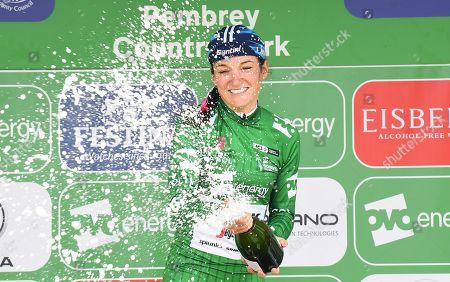Editorial image of 2019 OVO Energy Women's Tour of Britain Stage 6. Carmarthen, UK - 15 Jun 2019