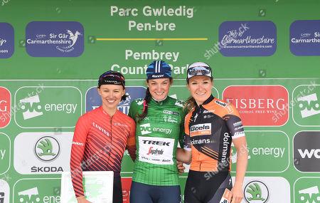 The Velodrome Carmarthen to Pembrey Country Park - Winner Trek Segafredo LIZZIE DEIGNAN wins the OVO Energy  Women's Tour