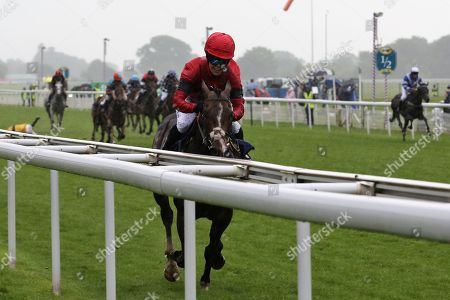 INSTANT ATTRACTION (1) ridden by Charlotte Atkinson and trained by Jedd O'Keeffe winning The Ernest Cooper Macmillan Ride Of Their Lives Charity Race over 1m 1f during the MacMillan Charity Raceday held at York Racecourse, York
