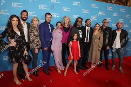 Editorial picture of 'Slam' premiere, 66th Sydney Film Festival, Sydney, Australia - 15 Jun 2019