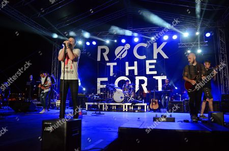 Marc Martel Live Queen show at Vittoriosa Waterfront in Rock the Fort Concert