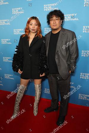 Dami Im and Bong Joon-Ho