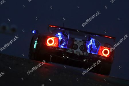 The Ford GT No67 of the Ford Chip Ganassi Team UK driven by Andy Priaulx of Britain, Harry Tincknell of Britain and Jonathan Bomarito of the U.S. races during the 87th 24-hour Le Mans endurance race, in Le Mans, western France