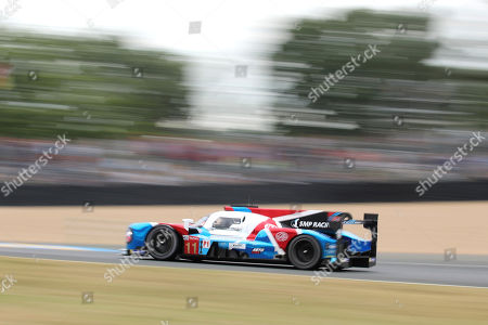 Stock Photo of The BR Engineering No11 of the SMP Racing Team driven by Vitaly Petrov of Russia, Mikhail Aleshin of Russia and Stoffel Vandoorne of Belgium in action during the 87th 24-hour Le Mans endurance race, in Le Mans, western France