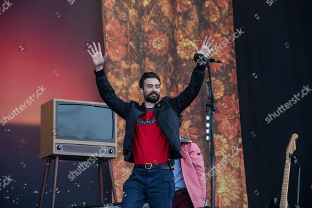 Stock Picture of Bastille - Kyle Simmons