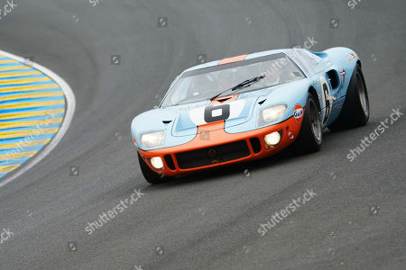 Stock Image of Driver Jacky Ickx in action during the Le Mans 24 Hours race in Le Mans, France, 15 June 2019. The race is scheduled to finish at 3pm on the 16 June.