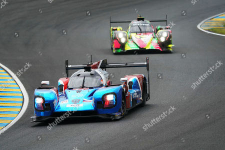 SMP Racing (starting no.17) in a BR engineering BR1 AER with Stephane Sarrazin of France, Egor Orudzhev of Russia and Sergey Sirotkin of Russia in action during the Le Mans 24 Hours race in Le Mans, France, 15 June 2019. The race is scheduled to finish at 3pm on the 16 June.