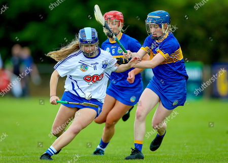 Tipperary vs Waterford. Tipperary's Eimer Loughman with Annie Fitzgerald of Waterford