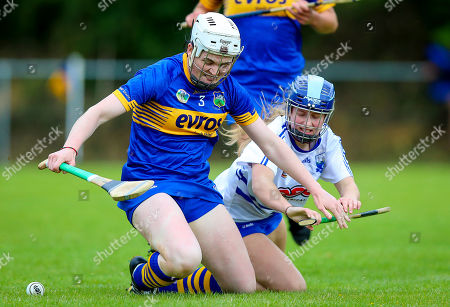 Tipperary vs Waterford. Tipperary's Gemma Grace with Annie Fitzgerald of Waterford